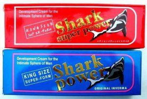 Shark Cream - Amazon - tablety - česká republika
