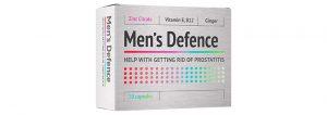 Men's Defence - česká republika - složení - akční