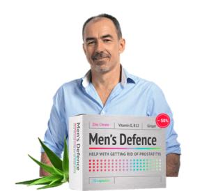 Men's Defence - tablety - kapky - krém